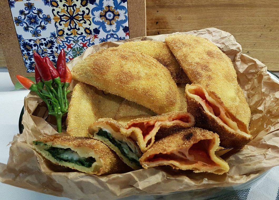 questa immagine rappresenta sofficini vegani fatti in casa ricetta di pasticciandoconlafranca