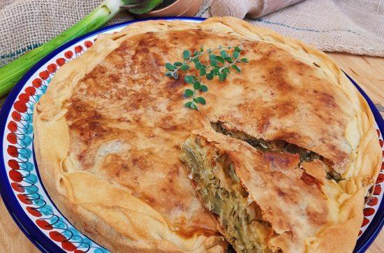 questa immagine rappresenta torta di riso ai carciofi ricetta di pasticciandoconlafranca