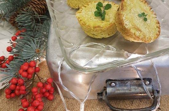 questa foto rappresenta il flan di cavolo romanesco e lupini ricetta di pasticciandoconlafranca