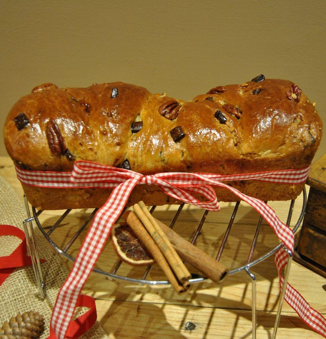 questa immagine rappresenta la babka treccia russa ricetta di pasticciandoconlafranca