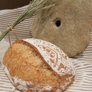 questa immagine rappresentapane di timilia integrale tumminia ricetta di pasticciandoconlafranca
