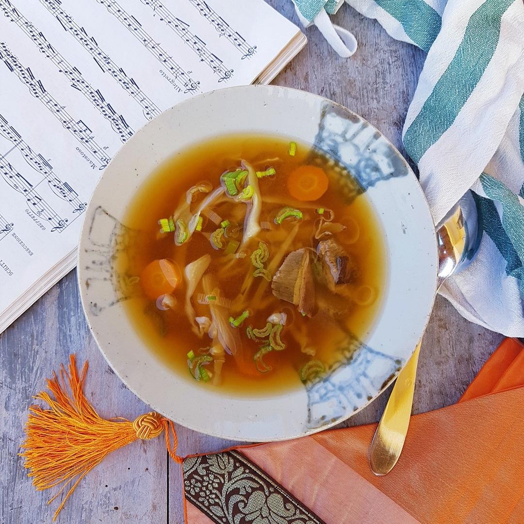 questa immagine rappresenta zuppa di miso miso soup ricetta di pasticciandoconlafranca