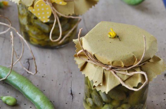 questa immagine rappresenta fave cotte in vasocottura ricetta di pasticciandoconlafranca