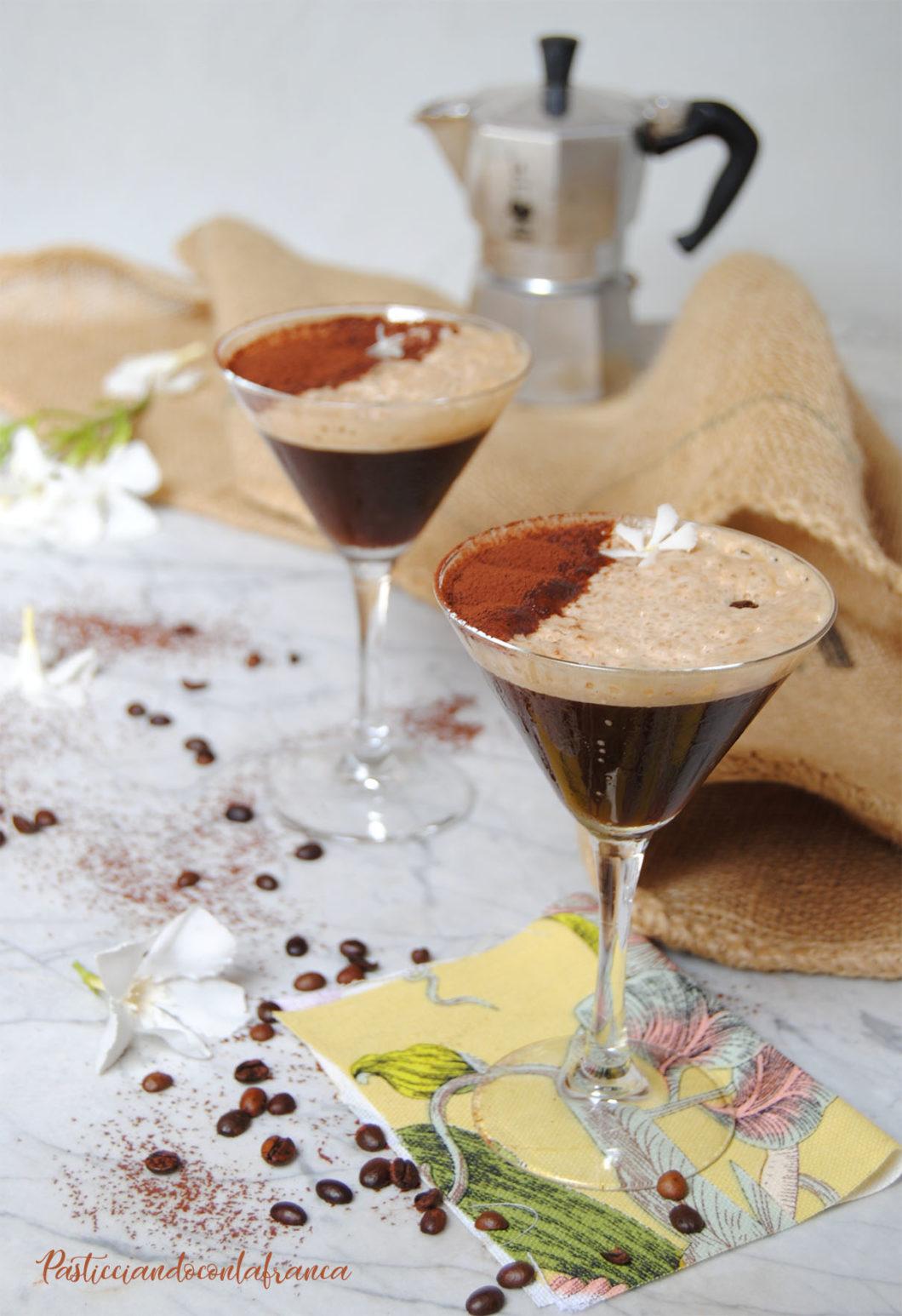 caffè freddo shakerato all'amaretto ricetta di pasticciandoconlafranca