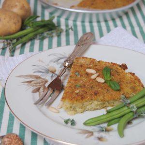 polpettone di verdure alla ligure ricetta di pasticciandoconlafranca