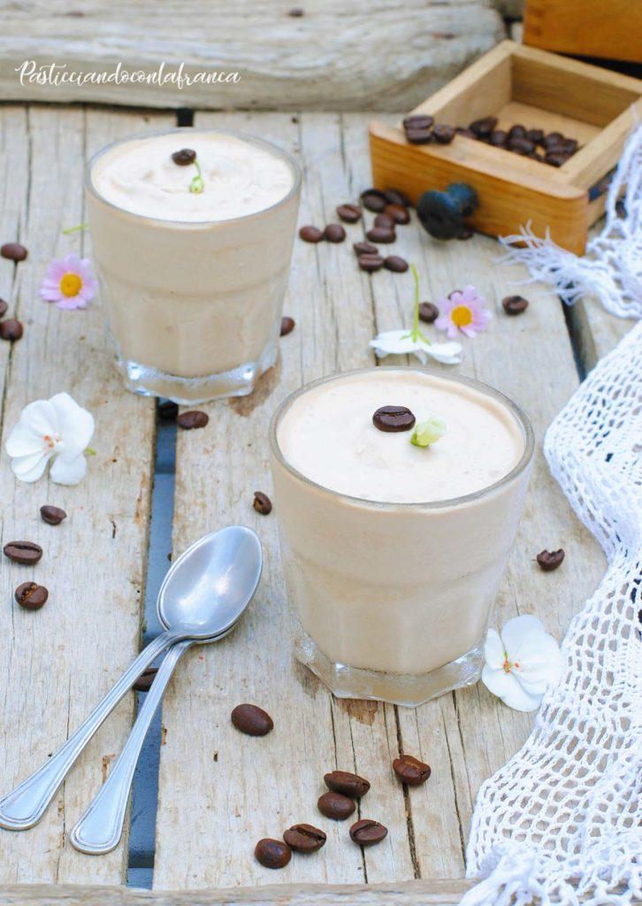 crema fredda al caffè ricetta di pasticciandoconlafranca
