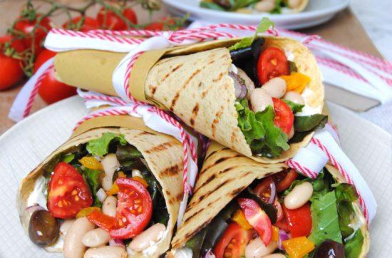tortillas con verdure e cannellini speziati ricetta di pasticciandoconlafranca