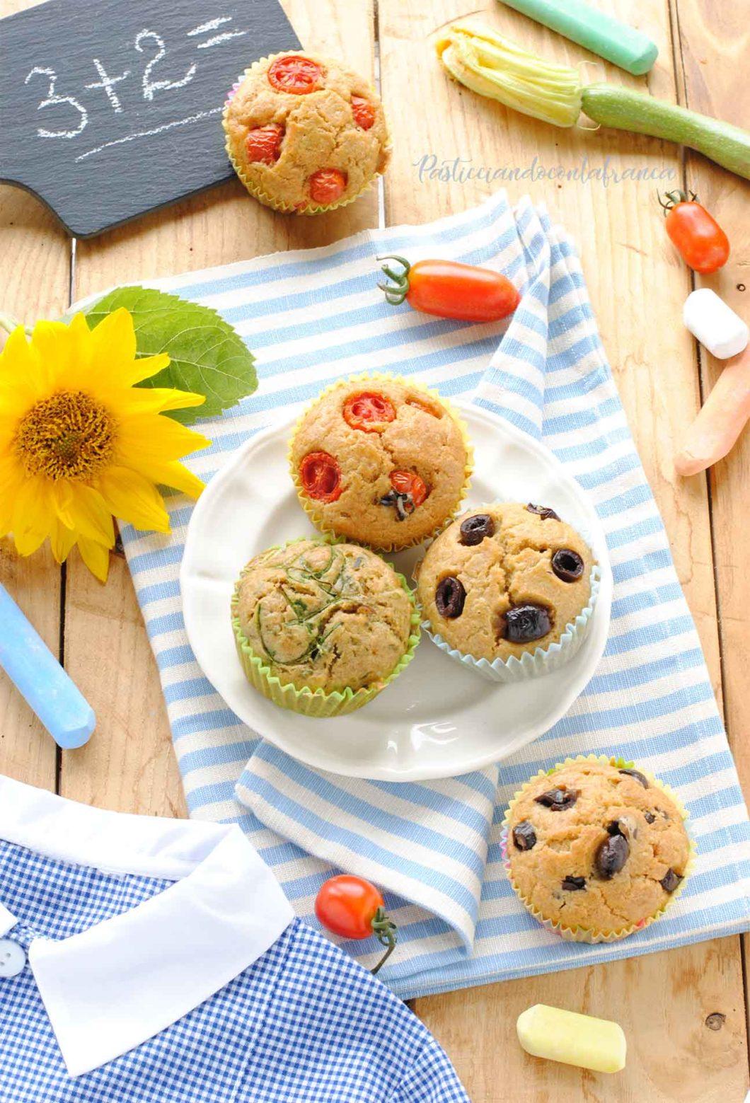 muffin salati vegan ricetta di pasticciandoconlafranca