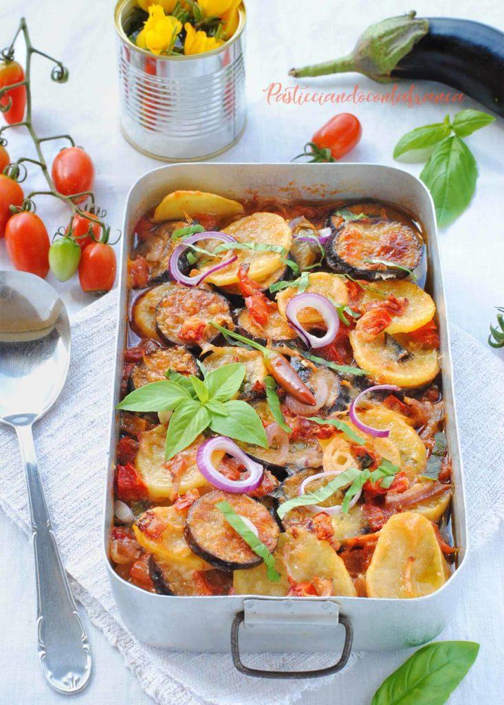 ratatuille di verdure la ratatuja ricetta di pasticciandoconlafranca