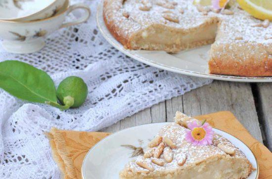 torta della nonna vegan ricetta di pasticciandoconlafranca