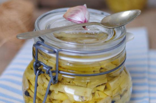zucchine trombette sott'olio ricetta di pasticciandoconlafranca