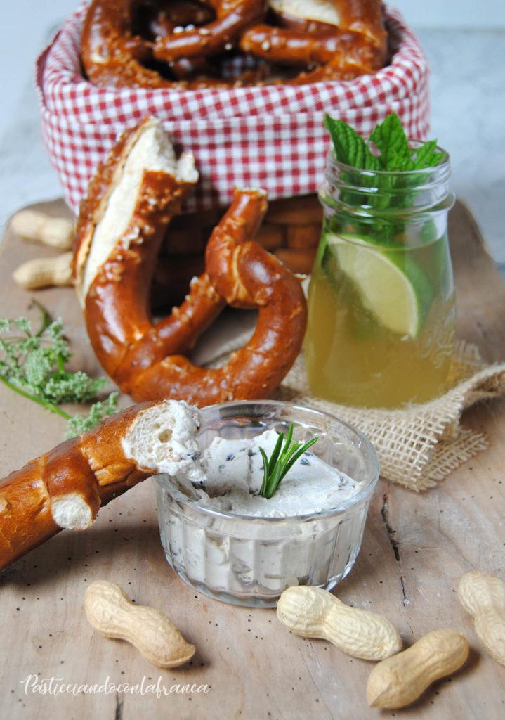 questa immagine rappresenta i miei Bretzels ricetta di pasticciandoconlafranca