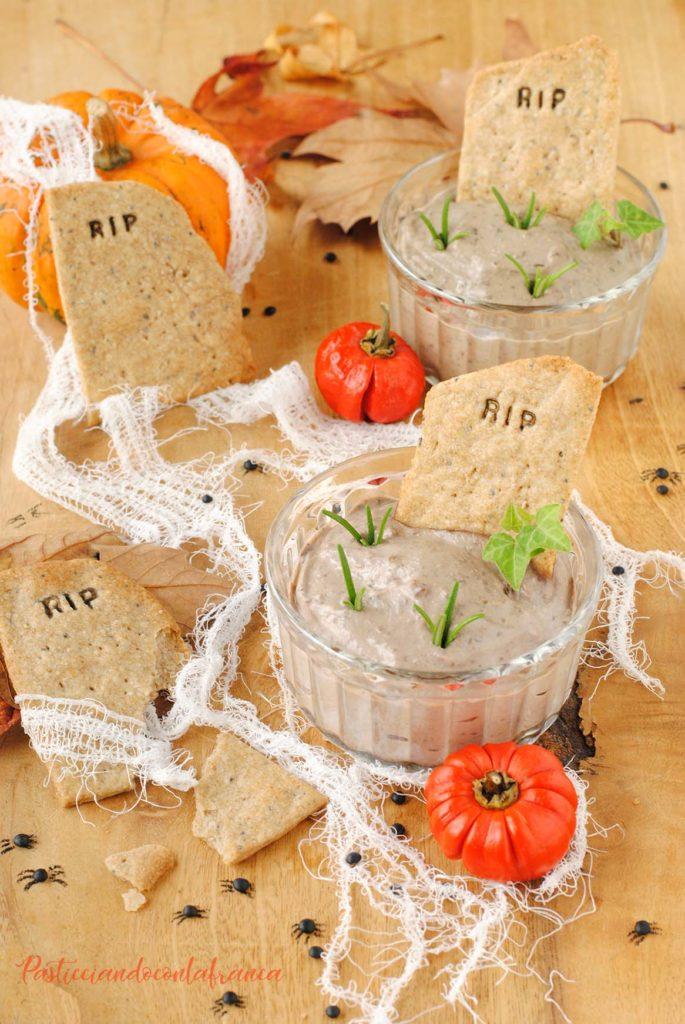 questa immagine rappresenta speciale Halloween: Paté Mortale! ricetta di pasticciandoconlafranca