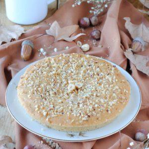 questa immagine rappresenta torta langarola alle nocciole ricetta di pasticciandoconlafranca