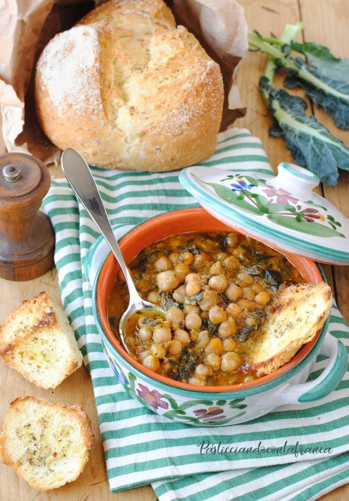 questa immagine rappresenta zimino di ceci alla genovese ricetta di pasticciandoconlafranca