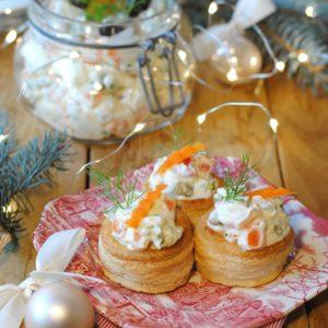 questa immagine rappresenta Insalata Russa dell'orto ricetta di pasticciandoconlafranca