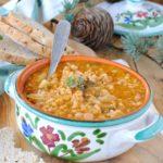 questa immagine rappresenta minestrone dell'artusi veganizzato ricetta di pasticciandoconlafranca