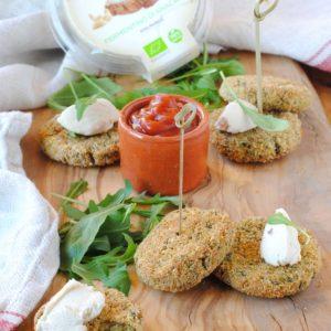 questa immagine rappresenta polpette di miglio e spinaci ricetta di pasticciandoconlafranca