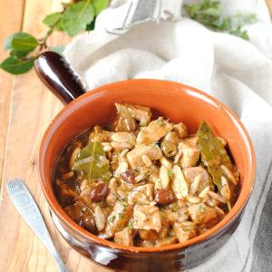 questa immagine rappresenta il tempeh alla ligure ricetta di pasticciandoconlafranca