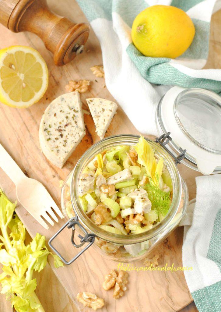 questa immagine rappresenta insalata bergera a modo mio ricetta di pasticciandoconlafranca