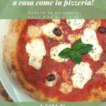 questa immagine rappresenta il volantino del corso di cucina la pizza perfetta